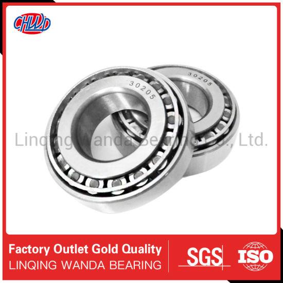 Wheel Bearing Roller Bearing Auto Parts Motorcycle Parts 30206 30205 30204 30203 30202 Motorcycle Spare Part Tapered Roller Bearing