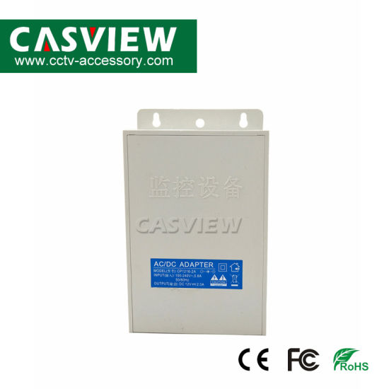 DC12V 2A 24W Rain-Proof Power Adapter CCTV Video Power Supply 170*117*45mm Surveillance pictures & photos