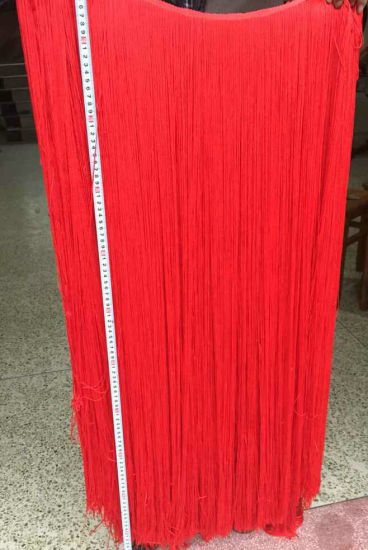 Wholesale 100cm Long Tassel Lace Silk Fringe Trim for Dress