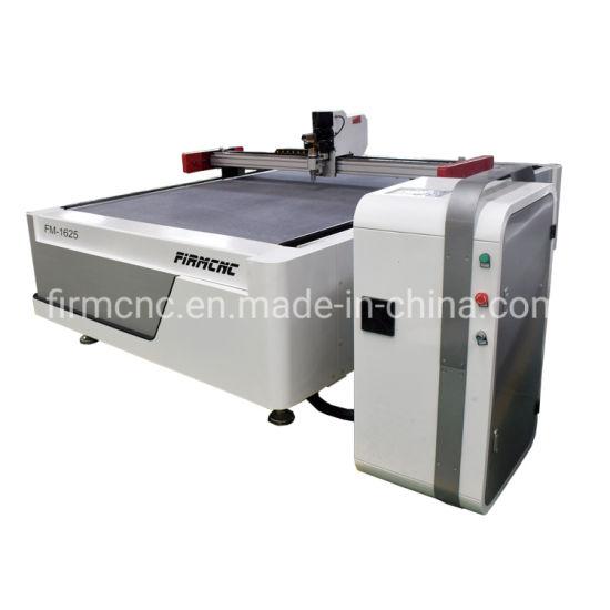 Fabric Leather Shoe Cutter Oscillating Knife CNC Cutting Machine