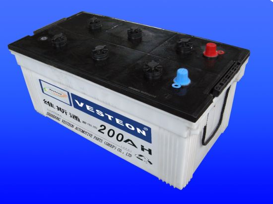 Top Quality Dry Charge Auto Battery with Ce, CQC, ISO, IEC Certificates