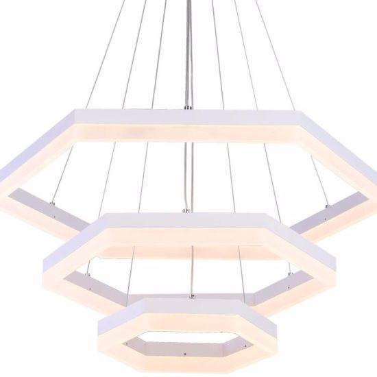 China cheap guangzhou modern led hexagonal shape aluminum chandelier cheap guangzhou modern led hexagonal shape aluminum chandelier aloadofball Gallery