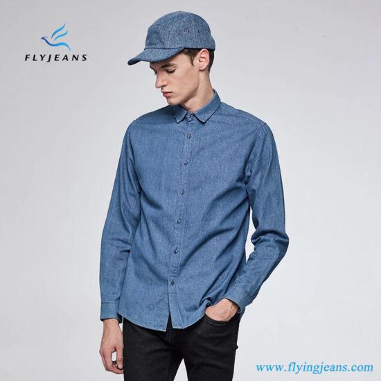 ef47d8111b50 China Fashion Leisure Classical Long Sleeves Men Denim Shirts by Fly ...