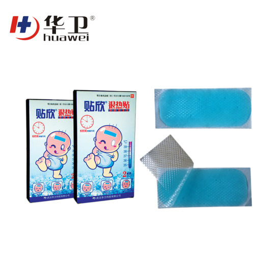 Wholesale High Quality Fever Treatment Cooling Gel Patch for Pain Relief