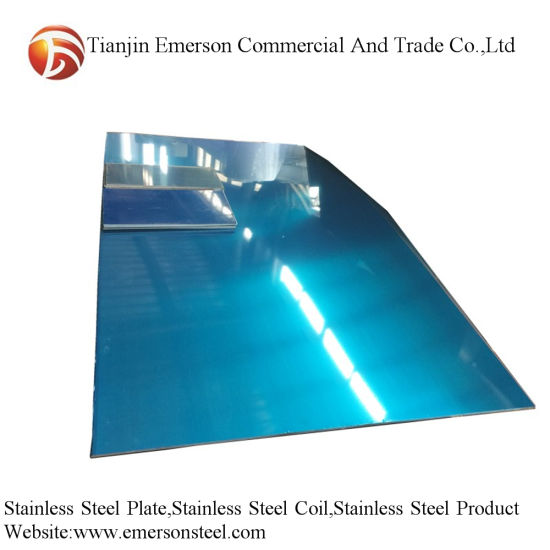 China Quality 2b 1.5mm Thickness AISI 304 304L Hot Rolled Stainless Steel Plate