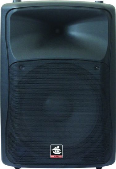 15 Inch 350W Digital AMP Bluetooth EQ for iPod Plastic Active PA Speaker PS-1715depd pictures & photos