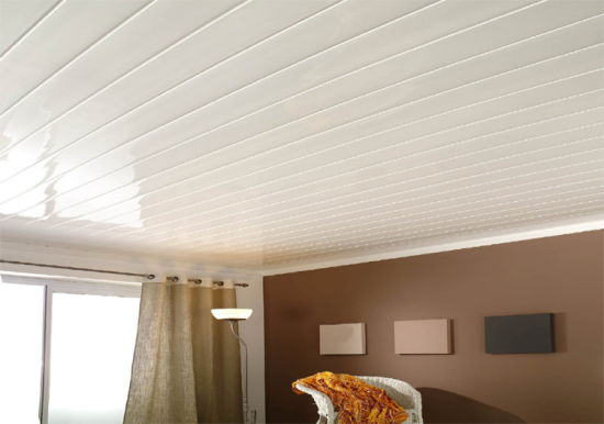 Waterproof PVC Panel for Wall and Ceiling Tiles with Hot Stamping pictures & photos