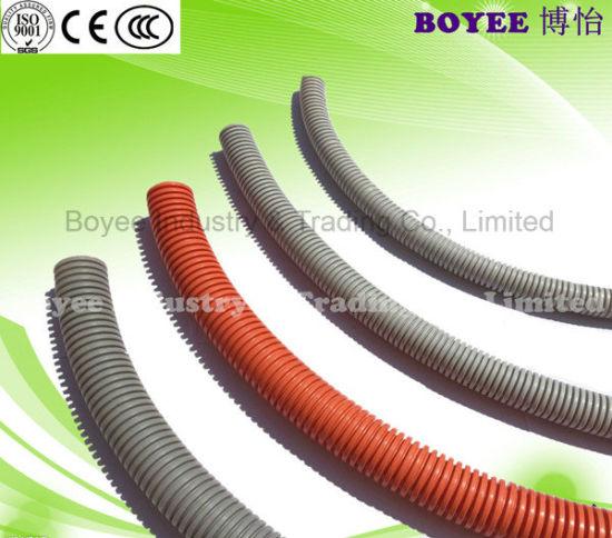 china pvc gray electrical wire flexible pipe conduits china rh boyeeco en made in china com