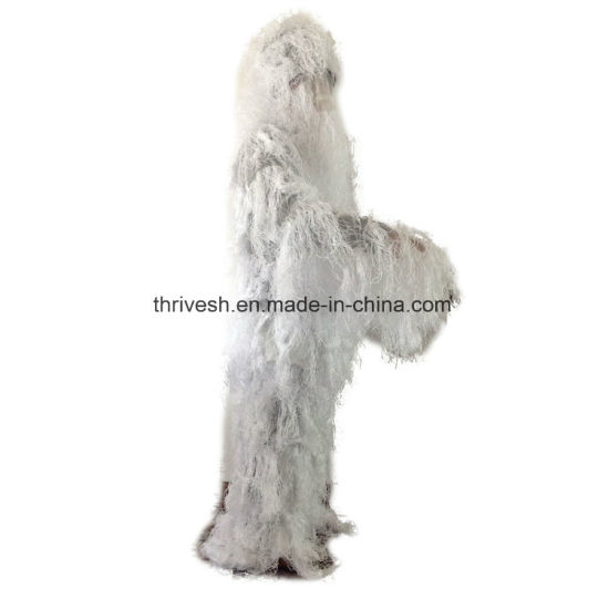 8d0f7e5d9c6f2 White Color Ghillie Suit, Sniper Suit, Hunting Suit Use Military, Snowfield