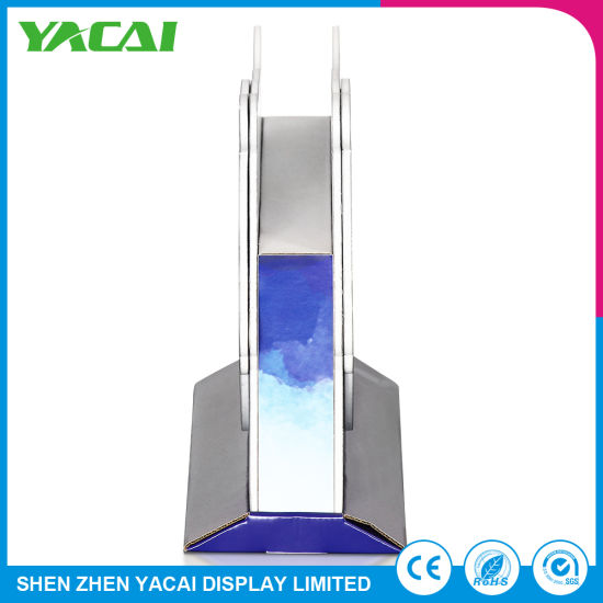 Recycled Paper Display Rack Exhibition Stands for Supermarkets pictures & photos