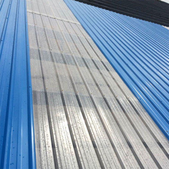 Durable Light Transmission Solid Corrugated Sheet for Plastic Building pictures & photos