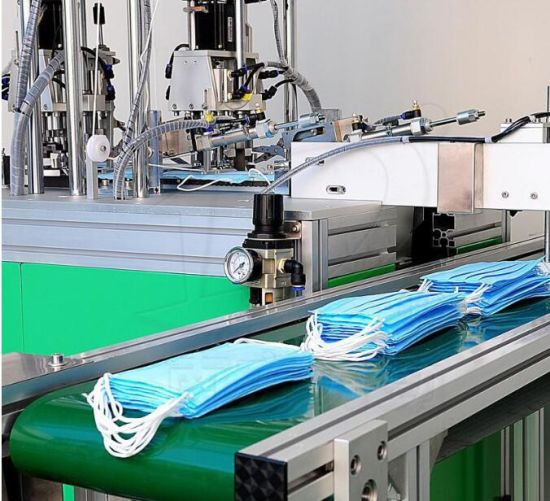 Semi Earloop Welding Face Mask Making Machine