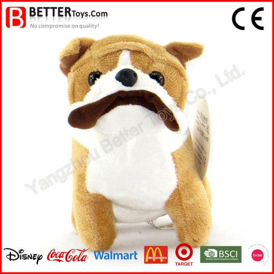 China En71 Stuffed Animal Plush Dog Soft Bulldog Puppy For Kids