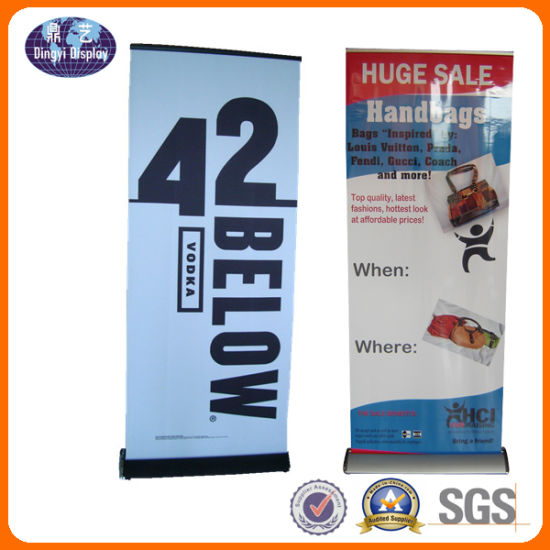China Single Side Easy Graphic Change Roll Up Stand China Rollup