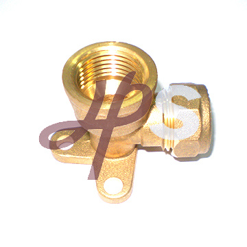 Brass Wallplated Elbow Connect Copper Pipe pictures & photos