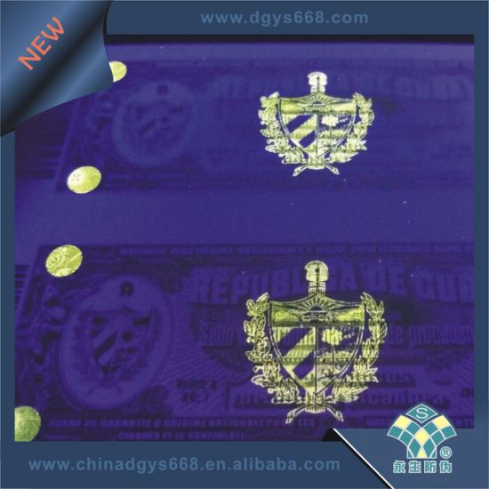 Booklet Printing UV Invisible Logo Printing