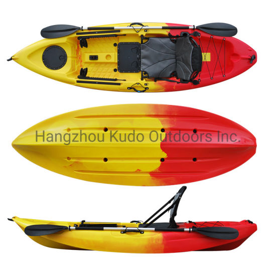 Sungler 285 Best Single Seat Fishing Kayak With Aluminum Seat