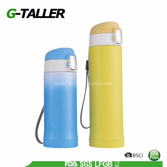 Stainless Steel Double Wall Insulated Travel and Sport Vacuum Vacuum Flask