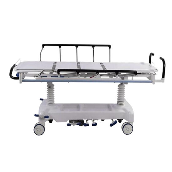 Hydraulic Medical Equipment Ambulance Patient Tansport Stretcher pictures & photos
