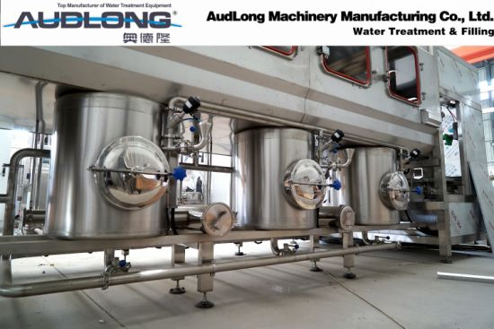 Washing Filling Capping Monoblock 5gallon Drink Water Filling Machine for Bottle with Faucet