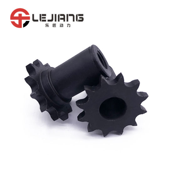 DIN High Quality 1045 Standard 40b-12t Sprocket Shaft for Roller Chain pictures & photos