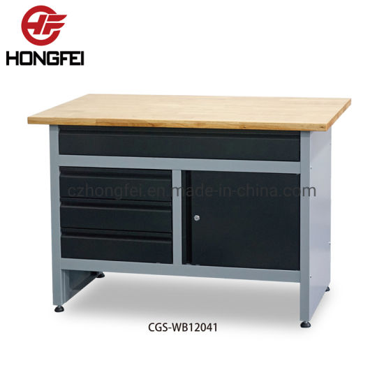 Steel Fixed Shelves Powder Coating Finish Tool Cabinet Work Bench pictures & photos