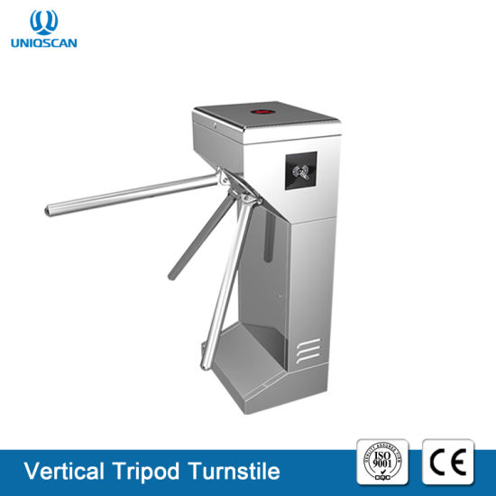 Wholesale Tripod Semi-Auto Security Turnstile pictures & photos