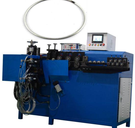 Wire Diameter 2-8mm Automatic Ring Forming Machine Butt Welding Machine