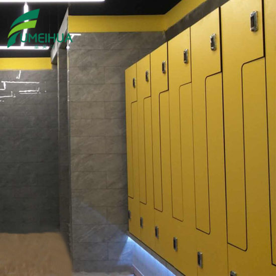 China hpl locker in gym fitness center changing room for singapore