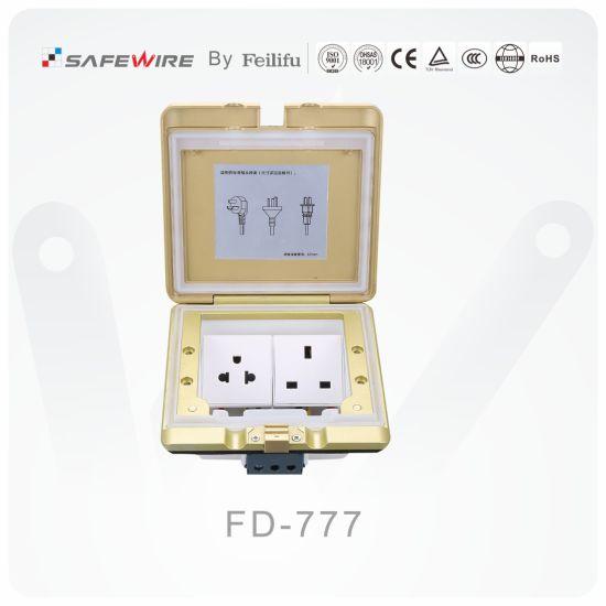 IP55 Floor Socket/Power Socket/Electrical Outlet/Floor Box OEM Factory