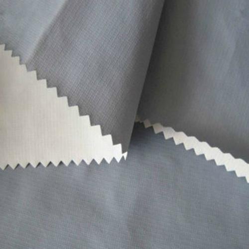 Waterproof Ripstop Nylon Taslan PU Milky Coated Fabric