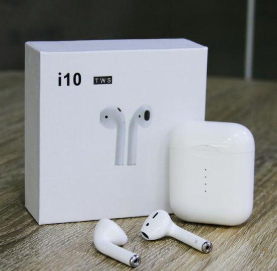 China I10 Original 1 1 Airpods Tws Bluetooth 5 0 Mini Stereo Earphone For Iphone Samsung China Stereo Headset And Mobile Phone Earphone Price