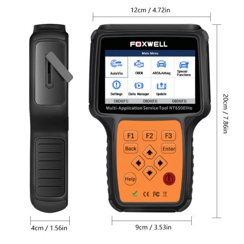 Foxwell Nt650 Elite All Makes Service Tool with 25 Special Function Updated Version of Nt650 pictures & photos