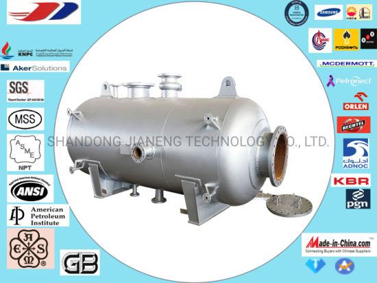 China ASME Section VIII Div I Pressure Vessel and Flash Tanks