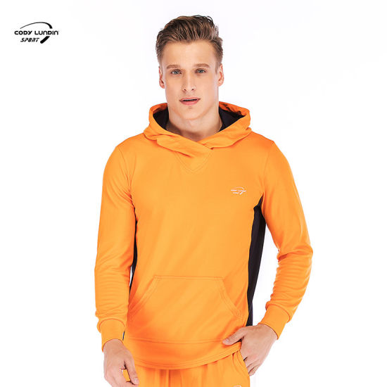 Cody Lundin Hoodies China Factory 93%Polyester+7%Spandex Sweatshirts Sports Wear Hoody for Mountaineering