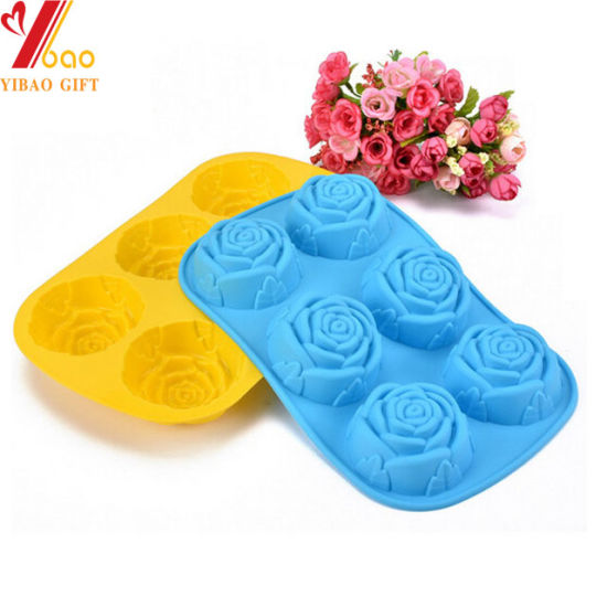 Food Grade Silicone Flower Cake Mould