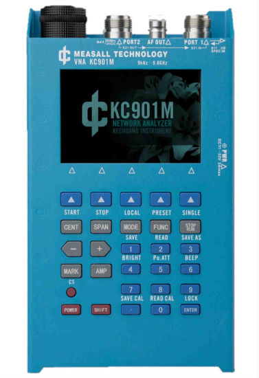 [Hot Item] Kc901m 9kHz-9 8GHz Frequency Electric Instrument Portable Vector  Network Analyzer