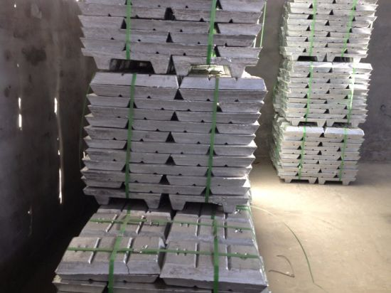 High Quality Pure Zinc Ingot 99.99% 99.995% Factory Price pictures & photos