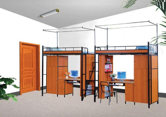 High Quality Steel-Wood Dormitory Furniture (G34A)