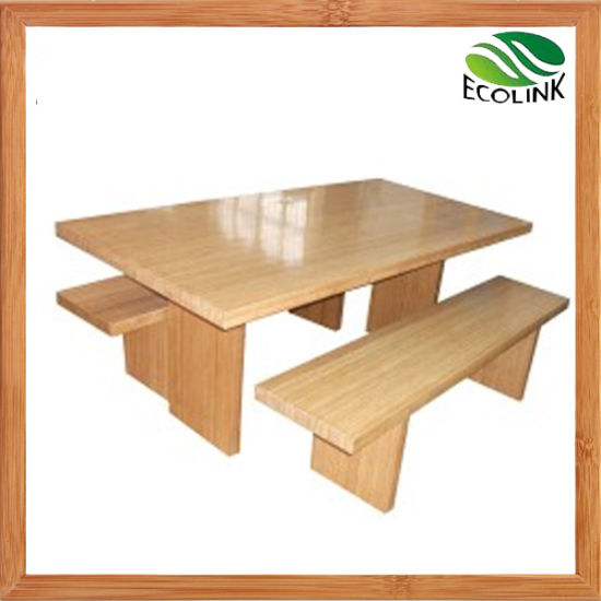 Bamboo Table and Chair Bamboo Furniture pictures & photos