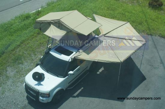 Car Roof Top Tent Rtt with Car Awning (SRT01E&WA01) pictures & photos