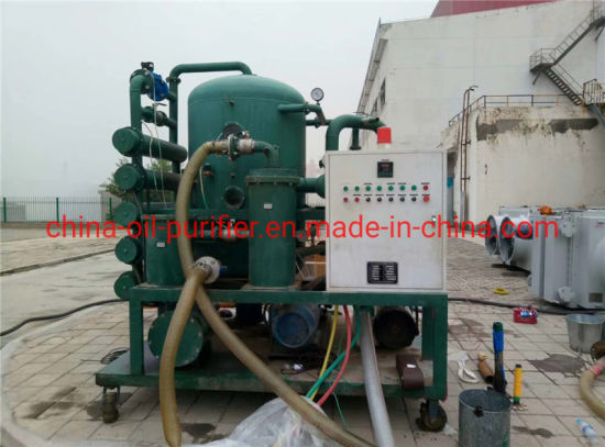 Zyd Series Transformer Oil Regeneration Machine with Double-Stage Vacuum System