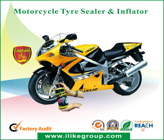 Captain Motorcycle Tyre Sealer Inflator pictures & photos