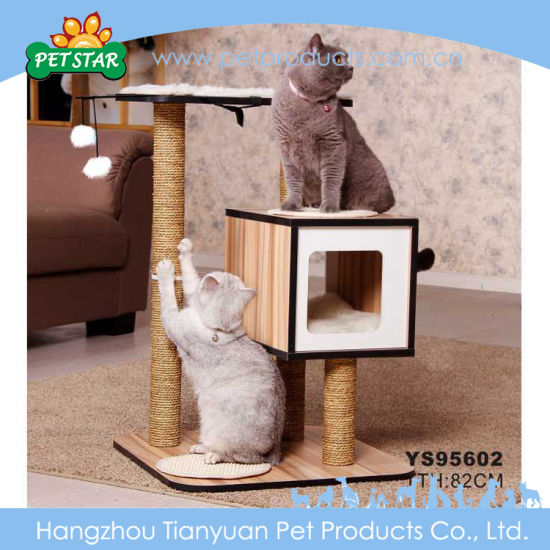 Waterproof Durable Healthy Cat Furniture Whole Craft Tree