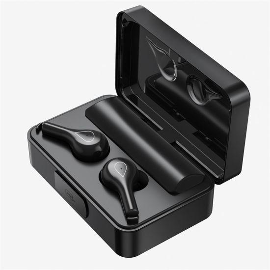 F18 New Mirror Display Large Capacity High-End Charging Warehouse Tws Wireless Earphone Headset Bluetooth Headset