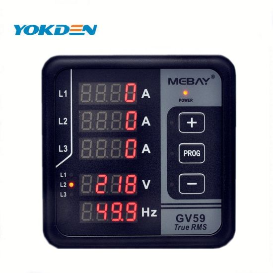 Automatic Protection and Alarm Indication Digital Electric Power Meter Gv59 pictures & photos