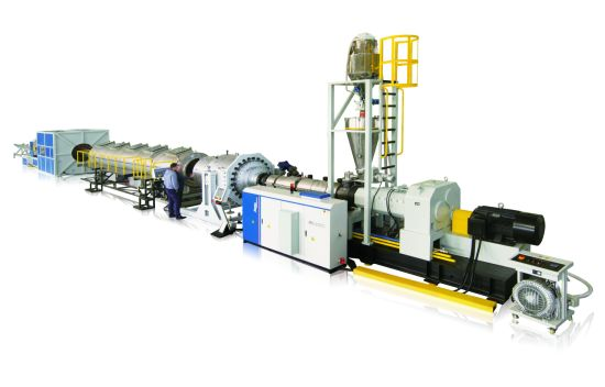 Jwell PVC UPVC Water Pipe Extrusion Machine