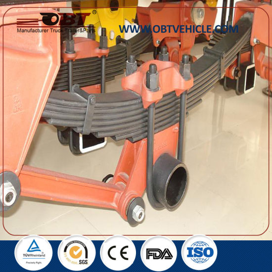 Obt Trailer Truck Suspension Leaf Spring for Sale pictures & photos