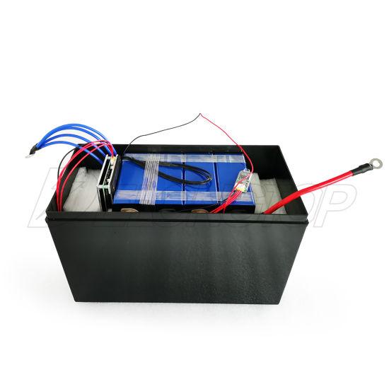 12V 100ah Deep Cycle LiFePO4 Battery Repalce AGM SLA VRLA Battery for Solar System RV Camping Trolling Motor