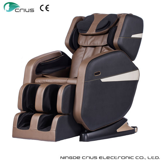 Luxury Electric Bluetooth Music Shaitsu Massage Chair pictures & photos